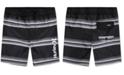 Hurley Big Boys Striped Board Shorts Swim Trunks