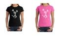 LA Pop Art Women's Word Art T-Shirt - Cheer