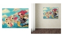 "Trademark Global Natasha Wescoat 'Epic Adventure' Canvas Art - 14"" x 19"""