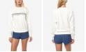 O'Neill Juniors' Mavericks Cotton Graphic-Print Sweatshirt