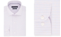 Tommy Hilfiger Men's Classic/Regular Fit Non-Iron THFlex Supima® Stretch Check Dress Shirt