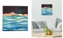 """iCanvas Celestial Sea by Spacefrog Designs Gallery-Wrapped Canvas Print - 37"""" x 37"""" x 0.75"""""""