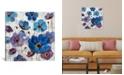 "iCanvas Bold Anemones I by Silvia Vassileva Gallery-Wrapped Canvas Print - 26"" x 26"" x 0.75"""