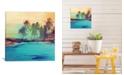 "iCanvas Palm Island I by Irena Orlov Gallery-Wrapped Canvas Print - 18"" x 18"" x 0.75"""
