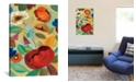 """iCanvas Summer Floral Panel Ii by Silvia Vassileva Gallery-Wrapped Canvas Print - 18"""" x 12"""" x 0.75"""""""