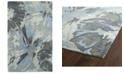 Kaleen Brushstrokes BRS06-75 Gray 8' x 11' Area Rug
