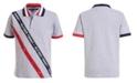 Tommy Hilfiger Big Boys Sloane Stretch Logo Tape Piqué Polo Shirt
