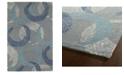 Kaleen Montage MTG01-75 Gray 2' x 3' Area Rug