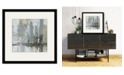 "Courtside Market Midtown Bridge II 16"" x 16"" Framed and Matted Art"