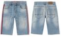 Tommy Hilfiger Toddler Boys Jensen Revolution-Fit Stretch Taped Denim Shorts