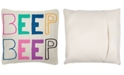 """Wit! Gifts Wit Gifts 18"""" x 18"""" Square Pillows"""