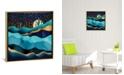 "iCanvas ""Indigo Desert Night"" by Spacefrog Designs Gallery-Wrapped Canvas Print"