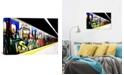 "iCanvas Train Graffiti by Unknown Artist Wrapped Canvas Print - 26"" x 40"""