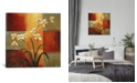 """iCanvas White Orchid by Jill Deveraux Wrapped Canvas Print - 37"""" x 37"""""""