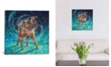 "iCanvas Old Rem by Iris Scott Wrapped Canvas Print - 26"" x 26"""