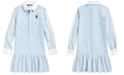 Polo Ralph Lauren Big Girls Classic Oxford Shirtdress
