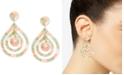 Zenzii Gold-Tone & Acetate Multi-Row Drop Earrings