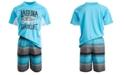 Laguna Toddler & Little Boys 2-Pc. Sharklife Rash Guard & Swim Shorts Set