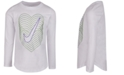 Nike Toddler Girls Heart-Print Cotton T-Shirt
