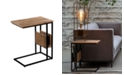 Villa2 VILLA 2 Side Tray Table/Sofa Table with Magazine Rack