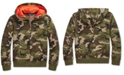 Polo Ralph Lauren Big Boys Camo Fleece Hooded Sweatshirt