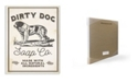 """Stupell Industries Dirty Dog Soap Co Vintage-Inspired Sign Wall Plaque Art, 12.5"""" x 18.5"""""""