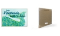 "Stupell Industries Even Mermaids Take A Bath Wall Plaque Art, 10"" x 15"""