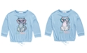 Beautees Big Girls Flip Sequin Cat T-Shirt