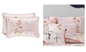 J Queen New York Beatrice Rose Quilted Boudoir Decorative Throw Pillow
