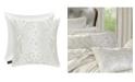 "J Queen New York J Queen Cordelia 20"" Square Decorative Throw Pillow"