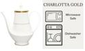 Noritake Charlotta Gold Coffee Server