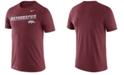 Nike Men's Arkansas Razorbacks Legend Sideline T-Shirt