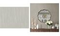 """Warner Textures 27"""" x 324"""" Volantis Textured Stripe Wallpaper"""