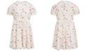 Peppa Pig Little Girls Stars & Rainbows Dress