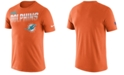Nike Men's Miami Dolphins Sideline Legend Line of Scrimmage T-Shirt
