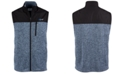 Greg Norman Men's Birdseye Fleece Vest