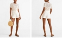 MANGO Pocket Linen Shorts