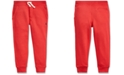 Polo Ralph Lauren Little Boys Fleece Drawstring Joggers