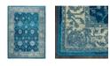 "Global Rug Designs CLOSEOUT! Global Rug Design Venus VEN07 Blue 5'3"" x 7'2"" Area Rug"