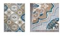 "Global Rug Designs Haven HAV01 Taupe 5'3"" x 7'2"" Area Rug"