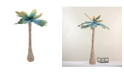 Northlight Summertime Tropical Beach Midnight Coconut Tree