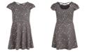 Epic Threads Toddler Girls Metallic Star-Print Dress, Created For Macy's