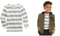 Epic Threads Toddler Boys Oatmeal Stripe Thermal T-Shirt, Created For Macy's