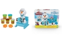 Hasbro Play-Doh Featuring Disney Frozen Olaf's Sleigh Ride Toy with 5 Non-Toxic Colors