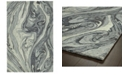 "Kaleen Marble MBL02-75 Gray 3'6"" x 5'6"" Area Rug"