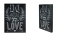 """Northlight LED Lighted Do What You Love Wall Sign, 16"""" x 12"""""""