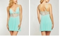 iCollection Elegant Modal Knit Chemise Nightgown, Online Only