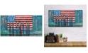 "Courtside Market William DeBilzan America the Beautiful 12""x24""x2"" Gallery-Wrapped Canvas Wall Art"
