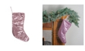 "Northlight 17.5"" Pink Paillette Sequins Christmas Stocking"