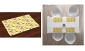 Ambesonne Fruit Place Mats, Set of 4